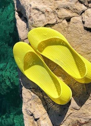 Босоножки мыльницы пляжная обувь силиконовые балетки мыльницы