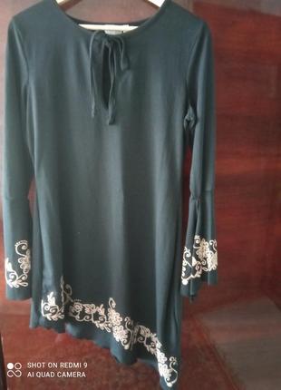 Асимметричное платье melrose
