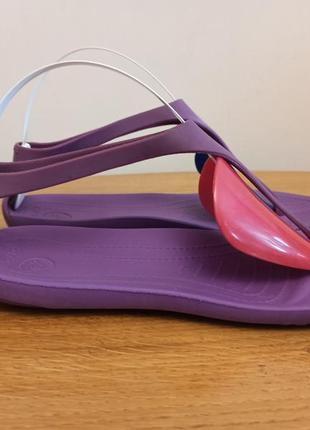 Босоножки crocs w6 women´s sexi flip sandal