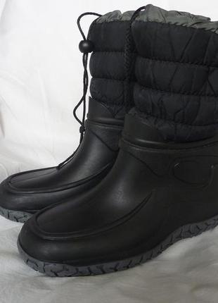 Итальянские сноубутсы g&g 38р-24,5-25см, теплые, не промокают, для снега и слякоти