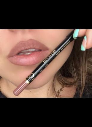 Новый карандаш для губ матовый мягкий идеальный нюд