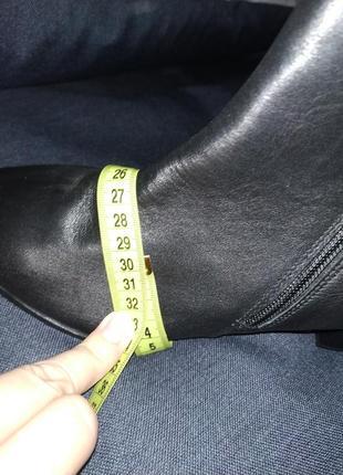 Кожаные ботинки (деми) р.40-41 кожа!8 фото