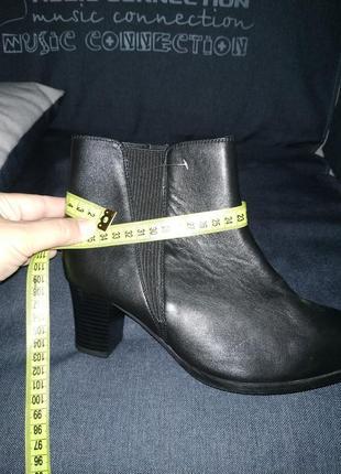 Кожаные ботинки (деми) р.40-41 кожа!7 фото
