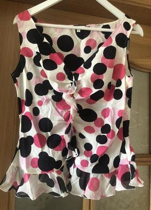 Шёлковая блуза escada