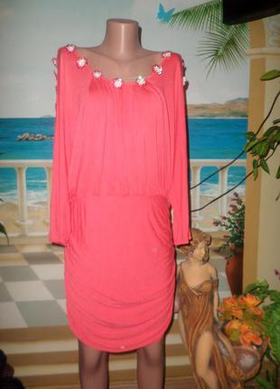 Супер яркое платье-туника!