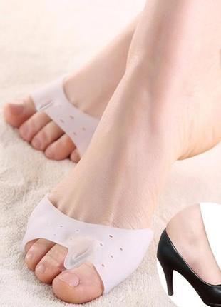 Силіконовий роздільник пальців ting pai силиконовые корректоры с разделителем для пальцев ног