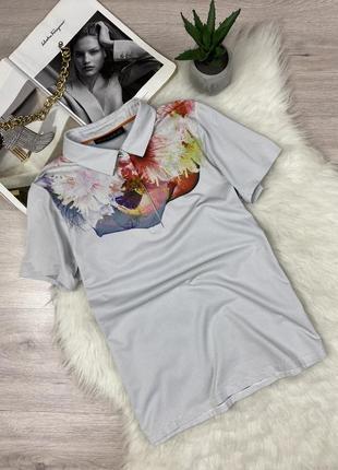 Фирменная футболка поло kjus