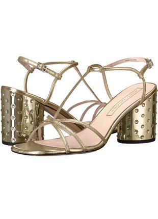 Обувь категории люкс, кожаные босоножки marc jacobs