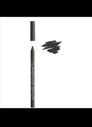 Dc make-up waterproof eyeliner 03 карандаш для глаз водостойкий серый