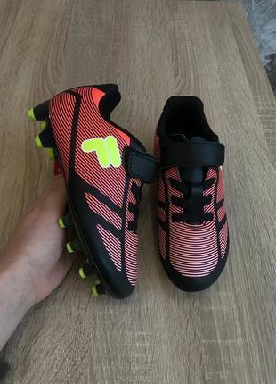 Fila 28- 29 копачки футзалки бутси кросівки. взуття для футболу, .