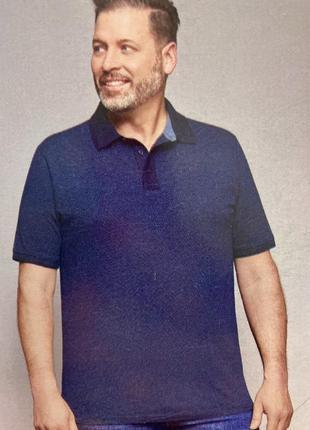 Стильная мужская футболка поло германия большие размеры баталы