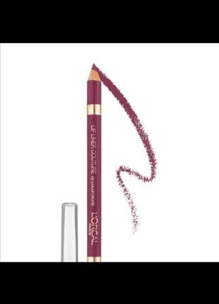 L'oreal paris lip liner couture by color riche 374 карандаш для губ