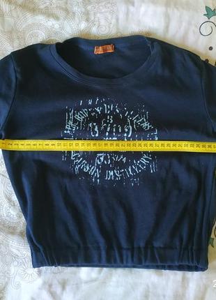 Стильная футболка ,топ на резинке, размер с .