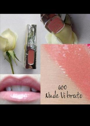 Лаковая помада extraordinaire by color rishe от loreal 600