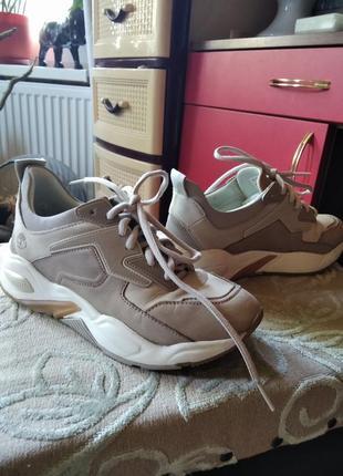 Оригинальные кроссовки timberland из германии.
