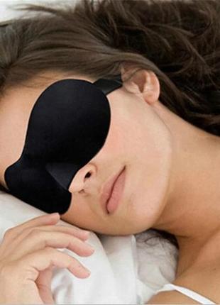 Набор для отдыха и сна: маска на глаза и 1 пара берушь. комплект