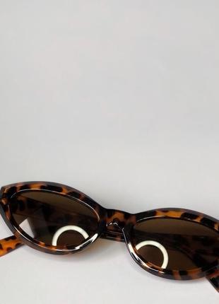 Солнцезащитные очки, леопардовые, новые