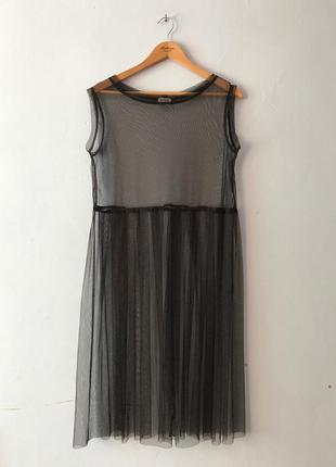Повітряна сукня -сітка  , плаття, туніка 🦋
