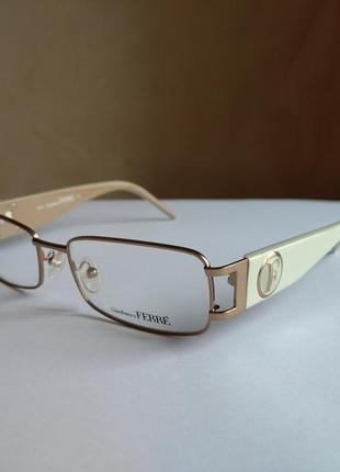 Брендовая оправа под линзы,очки оригинал g.ferre gf35202