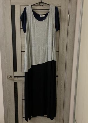 Интересное платье тройка большого размера батал