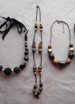 Бусы, ожерелье, колье.