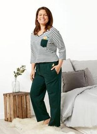 Женская пижама домашний костюм esmara размер 3xl (56-58)
