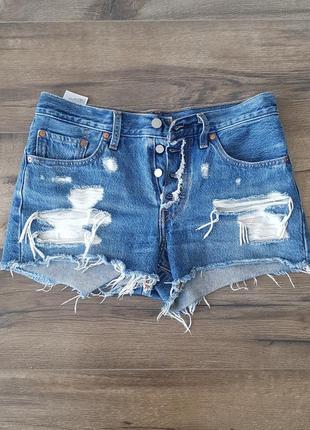 Короткие шорты levis 501, оригинал