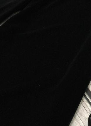 Бархатные кюлоты bershka с клешем от бедра  pn45232