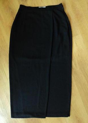 Длинная юбка черного цвета bijenkorf размер 36 s 44