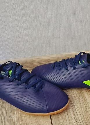 Adidas nemeziz messi 19.4 39р. 25см футзалки бампи