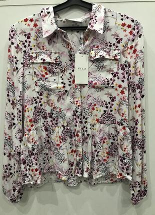Блуза квіткового принту