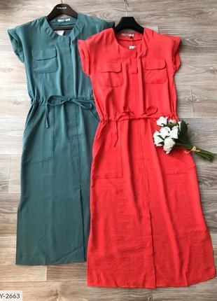 42-56рр✨льняной сарафан платье летнее красивое стильное модное