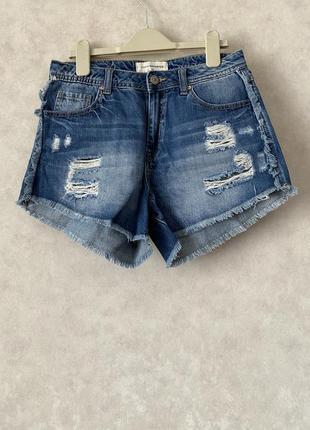 Шорты джинсовые reserved