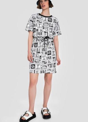 Футболка платье принт ostin новое, размеры