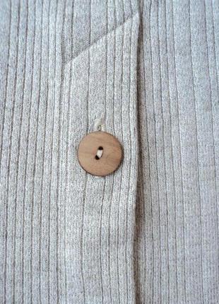 Трикотажная серая юбка миди размер 34 xs 423 фото