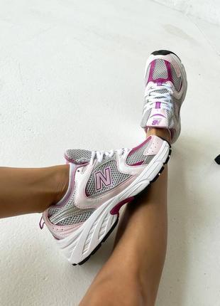 Женские кроссовки new balance 530 pink