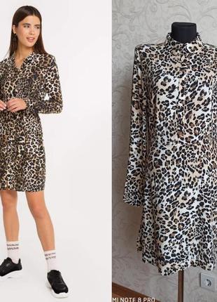 Платье в леопардовый принт primark1 фото