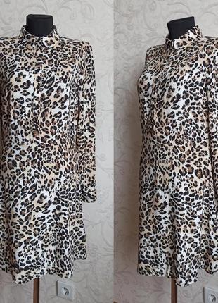 Платье в леопардовый принт primark2 фото