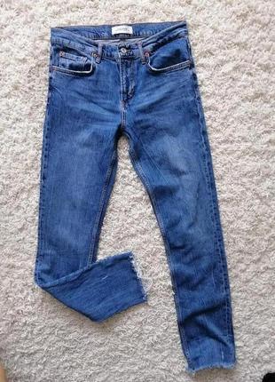 Брендовые женские джинсы zara 38 в прекрасном состоянии