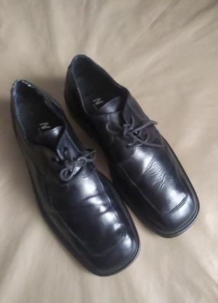 Скидка!🎉 натуральная кожа,туфли швейцарского бренда