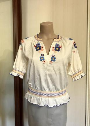 Футболка, блуза,вышиванка,премиум бренд, этно бохо стиль