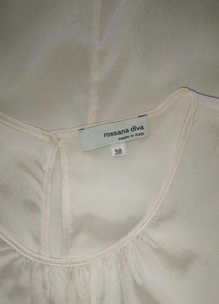 Rossana diva италия, прекрасная блуза из натурального шелка,р.385 фото