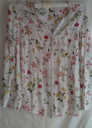 Хорошая фирменная блуза с рукавом (made in india )