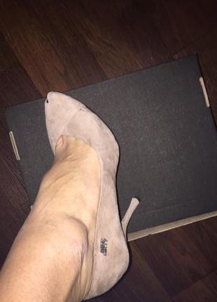 Туфли замшевые miss sixty