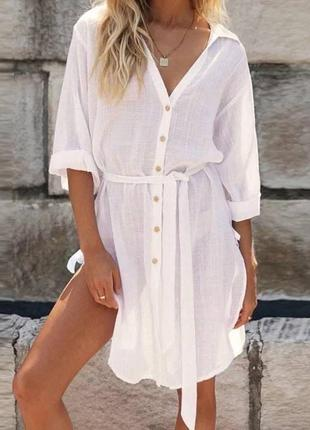 Женская рубашка туника1 фото