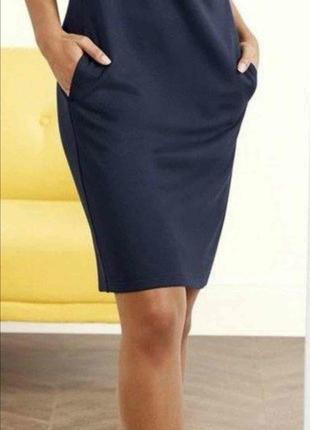 Шикарное платье с карманами2 фото