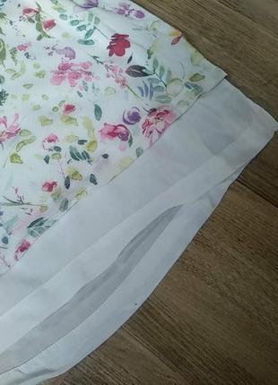 Очень красивая нежная летняя блуза майка вискоза размер 383 фото