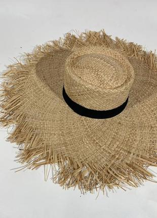 🦋 солом'яна шляпка шляпа капелюх 🦋3 фото