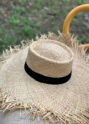 🦋 солом'яна шляпка шляпа капелюх 🦋2 фото