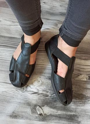 🤍 мягчайшие кожаные сандалии босоножки на размер 41🔥